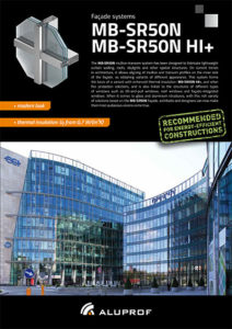 Fassade systems MB-SR50N
