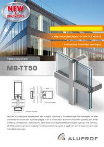 Fassade systems MB-TT50